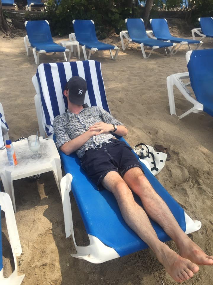 Alan Naps Jamaica Beach