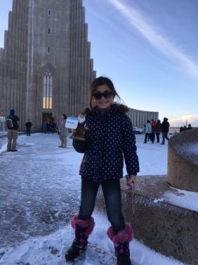 Making friends in Reykjavik, Iceland